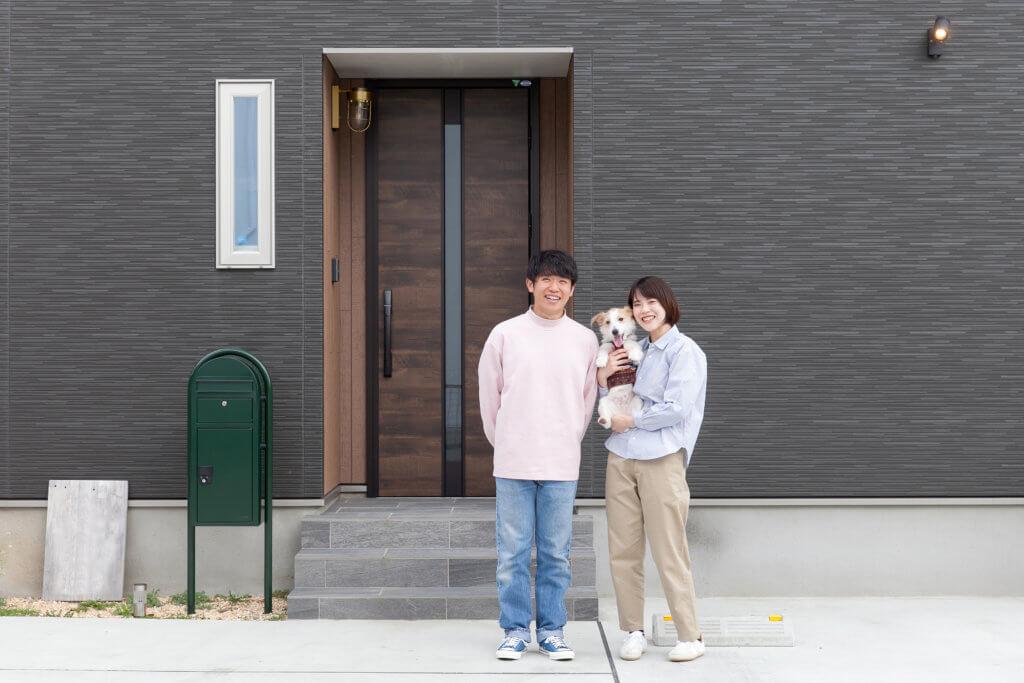 愛犬と暮らす、明るく開放的なお家